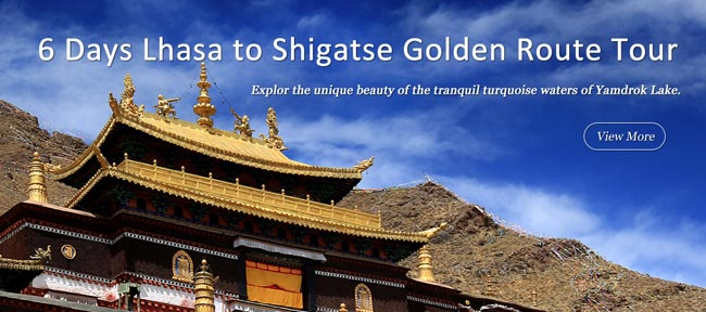 6 Days Tibet Golden Route Tour