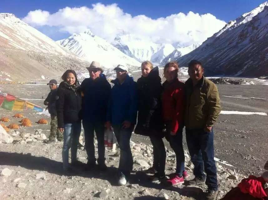 GTT-150416 Tibet Tour Group