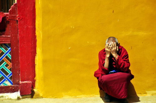 Monks and Nuns in Tibet