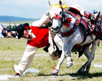 Changtang, Horse racing, Shoten Festival