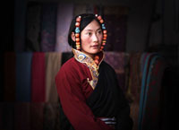tibetan people, tibetan local people, people in tibet, local tibetan