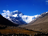 Mt. Everest, Rongbuk Monastery, Highest Mountatain in the world