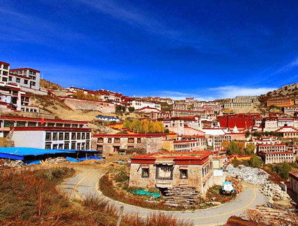 6 Days Lhasa-Ganden-Lhasa Cycling Tour