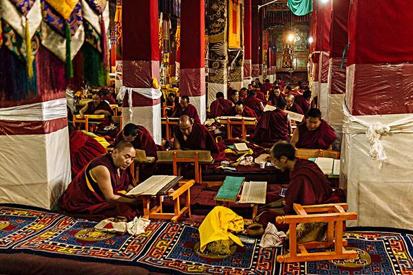 A Hall at Drepung Monastery