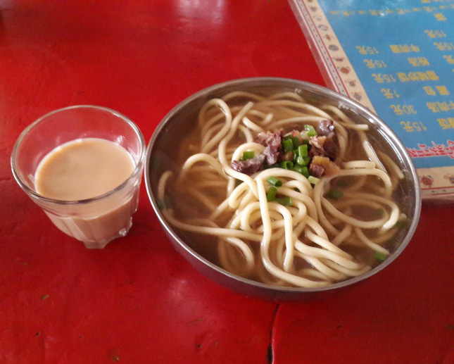 Tibetan Breakfast, to Enjoy the Plateau Life