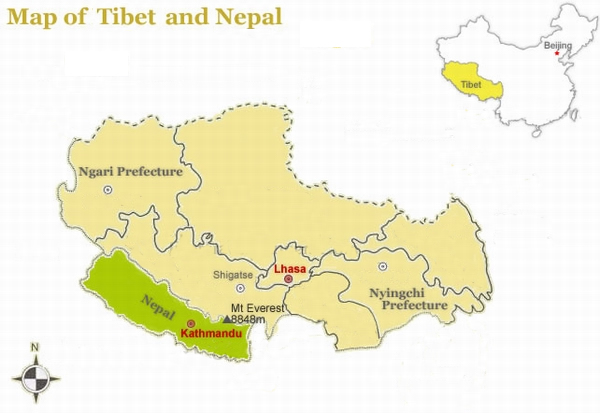 Geography of Tibet