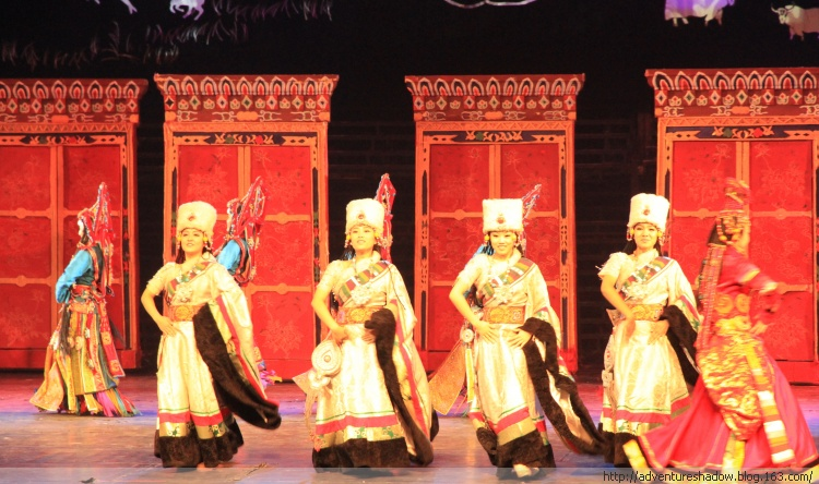 Performances and Entertainments at Lhasa Night